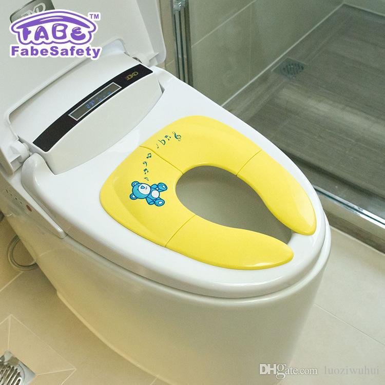 منتجات سلامة الطفل قابلة للطي مقعد المرحاض الطفل مساعدة المرحاض قابلة للطي سهلة طفل مقعد المرحاض الرجال والنساء طفل متبادل