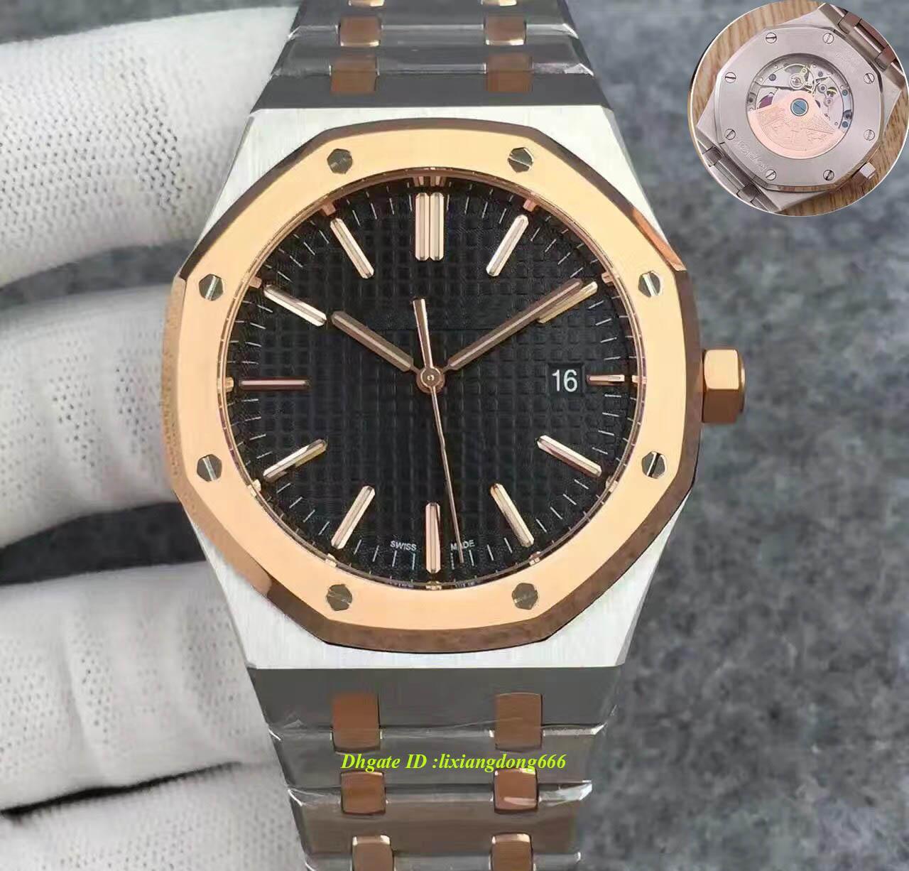 Homens de luxo Relógios Homens Luxo Automático Máquinas Relógios Homens de Aço Inoxidável 42mm Luminoso Negócios À Prova D 'Água 30 M Relógio de Pulso