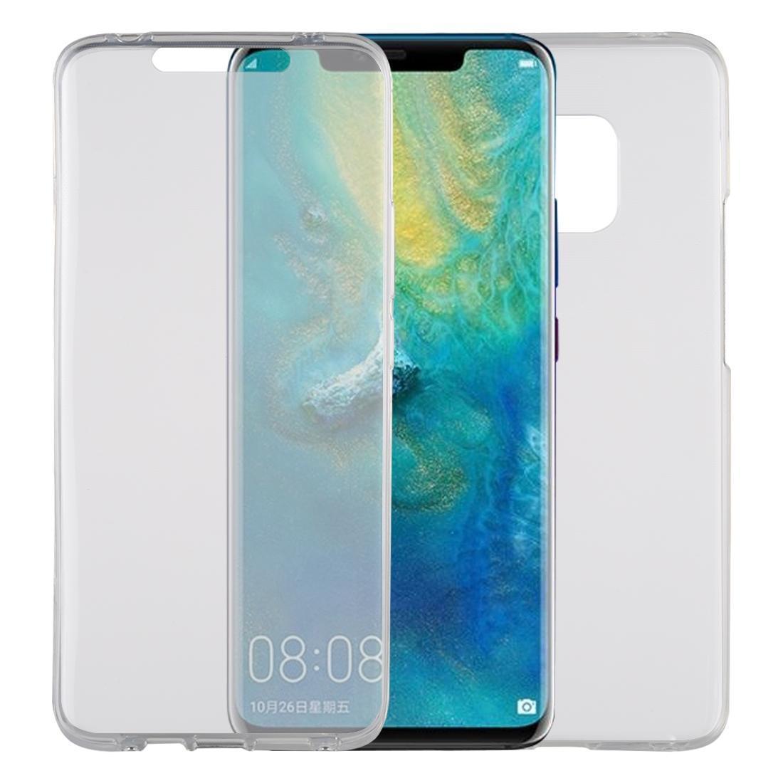 Caja protectora transparente TPU Cobertura completa ultra-delgada de doble cara para Huawei mate 20 Pro