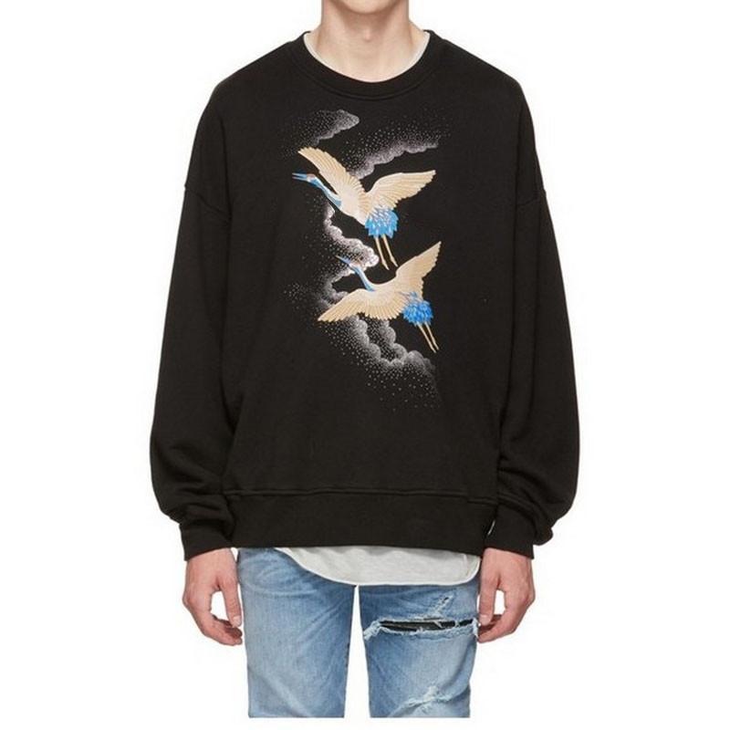 أزياء الرجال المصمم هوديس هوديس جودة عالية الهيب هوب أزياء الرجال والنساء جودة عالية البلوز البلوز بأكمام طويلة الحجم S-XL