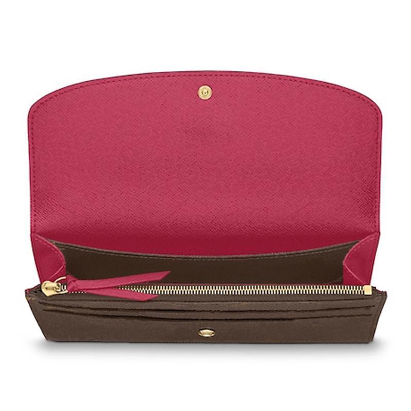 Дизайнерский кошелек Женский кошелек молния сумка женское бренд кошелек кошелек мода держатель карты кармана длинная женская сумка с коробкой