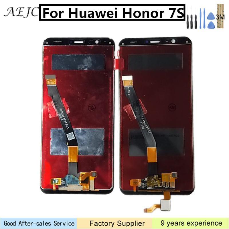 5,45 pouces pour Huawei Honor 7S LCD écran tactile Digitizer Assemblée de remplacement pour Huawei Honor 7S FIG-LX1 FIG-L2 écran