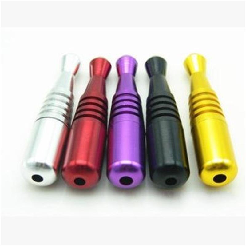Tubos de liga de alumínio de tabaco Cor Baseball Shaped Fumar Design Mão removível Diversos Eletrodomésticos Moda 4 5ek H1