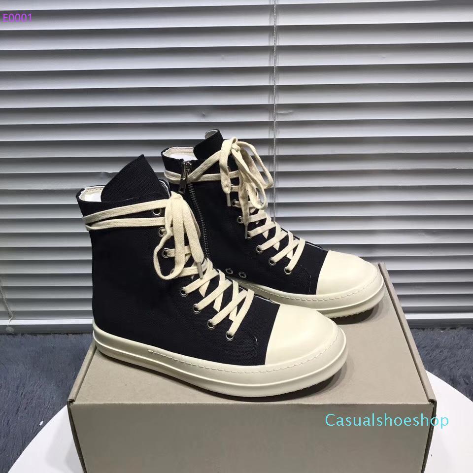 top del alto confortables palas de materiales respirables de los hombres y los zapatos casuales de las mujeres de cuero noble suela elegantes zapatillas de deporte negro antideslizante