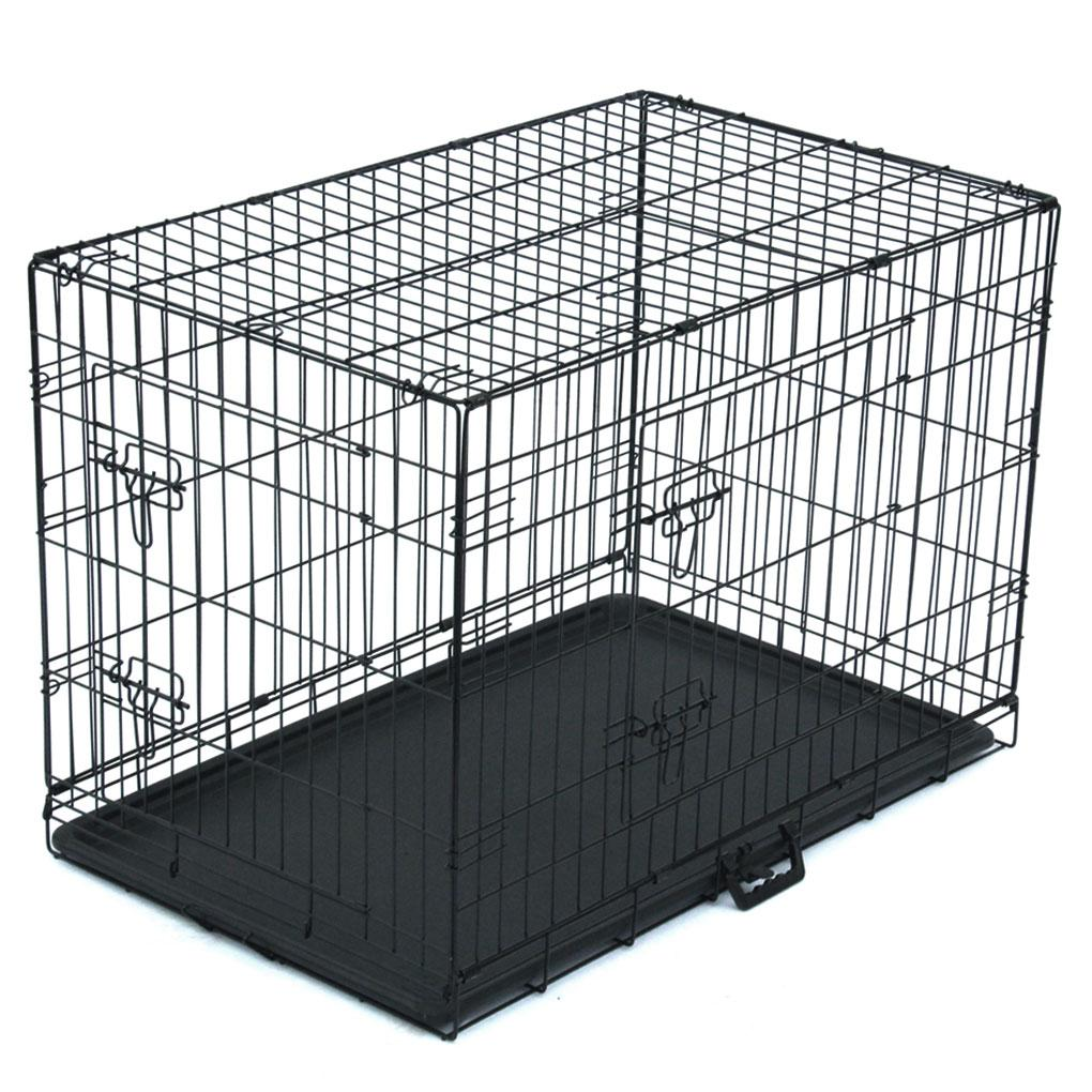 36 inch Iron Wire Fence Pet Folding Exercise Yard Foldable Metal Play Pen Indoor Outdoor Iron Playpen