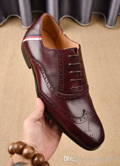 Original Box Mens Oxfords Drive Real Leather Casual Leisure Weeding Shoes  Made In Italy Size 38 45 Mens Dress Boots Men Sandals From Alice0905,  $118.6| DHgate.Com