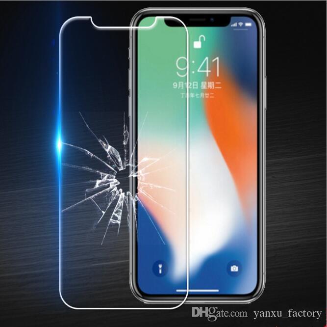 9H 투명 강화 유리 아이폰 SE 2020 (11) 프로 맥스 XS XR 최대 X 8 7 플러스 6 5S 화면 보호기 삼성 A51 화웨이 P40 필름