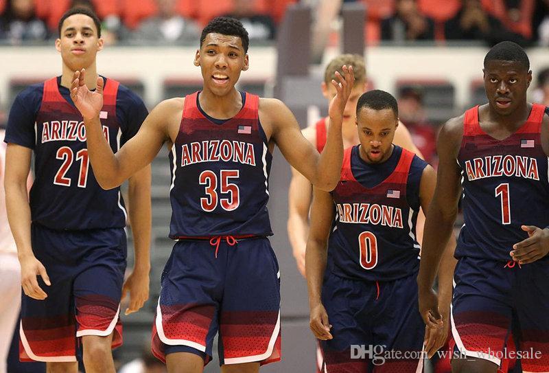 Jake DesJardins Arizona Wildcats Basketball Jersey - Crimson