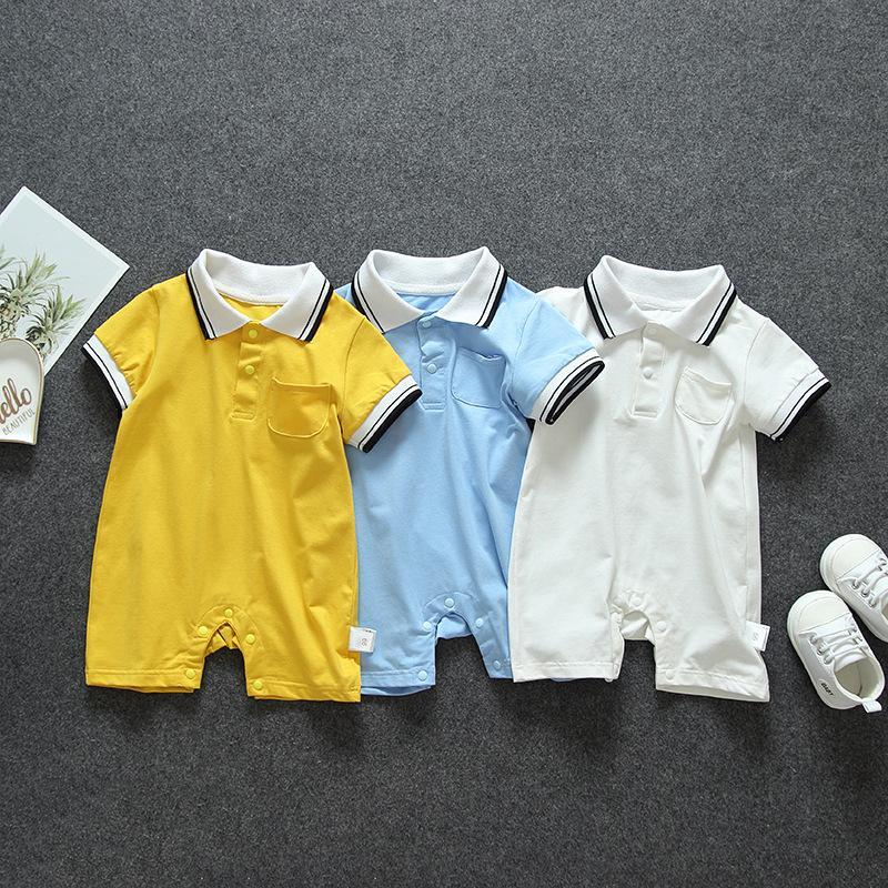 Yeni doğan bebek erkek kız giyim 1 bebekler doğum günü tulum için erkek kız kıyafetler spor tulum setleri için Yaz bebek kıyafetleri