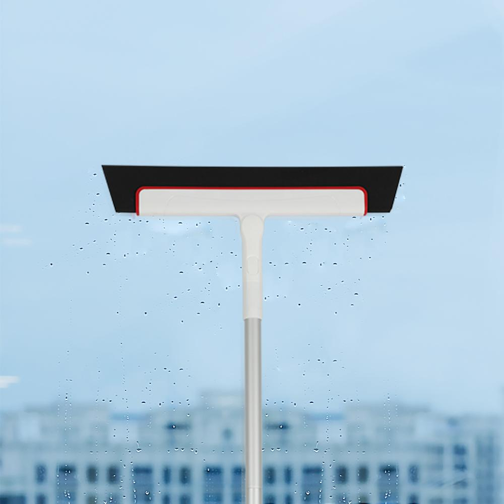 Cleanhome ajustável 38 polegadas EVA rodo Broom vidro Wiper Água Sweeper para banheiro, vidro, Janela, Chão Wiper Broom