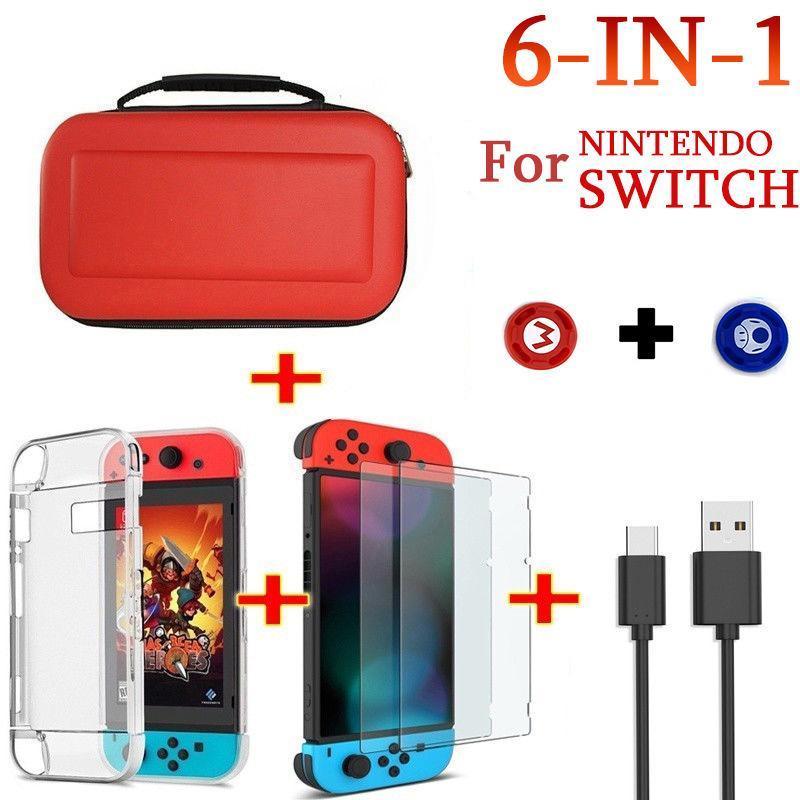 Переключатель Ns хранения пакет Набор для Nintendo узла защиты Пакет Кристалл Shell Силиконовые игры Защитная крышка силиконовый чехол аксессуары