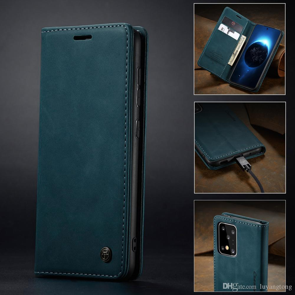 Pour Samsung Galaxy S20 plus de cas Business portefeuille magnétique en cuir pour Samsung Galaxy S20 Ultra S20 + Téléphone Cover Coque