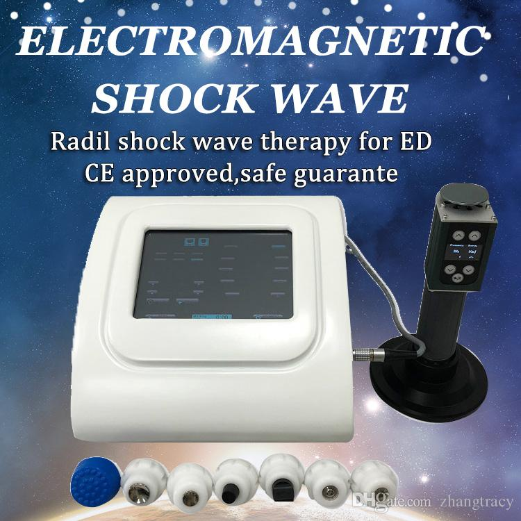 ED erektil disfonksiyon için Portabel erektil disfonksiyon Şok dalgası terapi sistemi SW100 Mini Akustik radyal şok dalgası