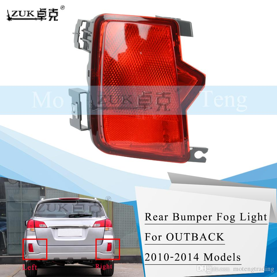 Bumper Reflector for 2015-2016 Subaru Outback Rear Right Side
