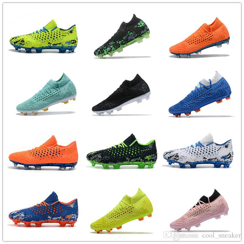 2019 New Superfly EvoSPEED Future 2.1 FG Mens Soccer Cleats Neymar Soccer Boots Cristiano Ronaldo World Cup Football Shoes Botines Futbol