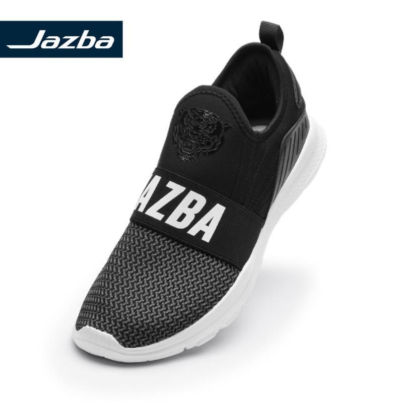 Jazba Zabar Elastic Slip-On Schuh Männer Casul Turnschuhe Rennen Gehen atmungsaktive Schuhe 2019 Sport Outdoor Schuhe