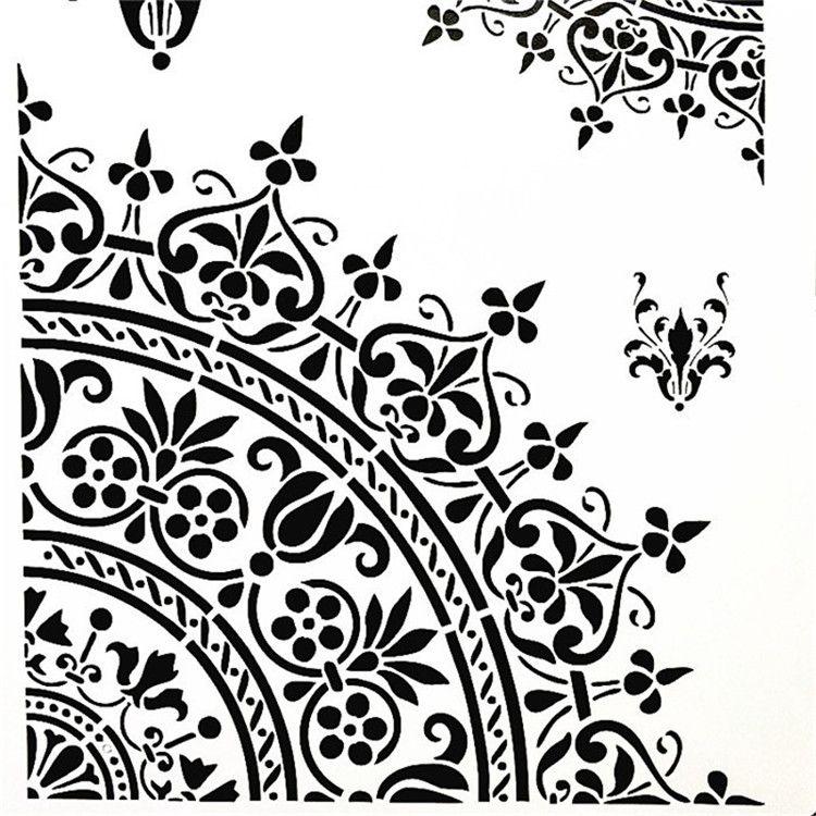 Pattern Stencil Craft Walls UK SELLER