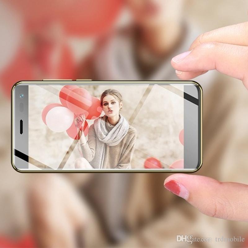 "Original Ulcool 4G Smartphone 3+32GB LTE TDD CDMA Cellphones Unlocked Android8.1 Google Play 3.2"" Mini Mobile Phone 1300mah For Girl friend"