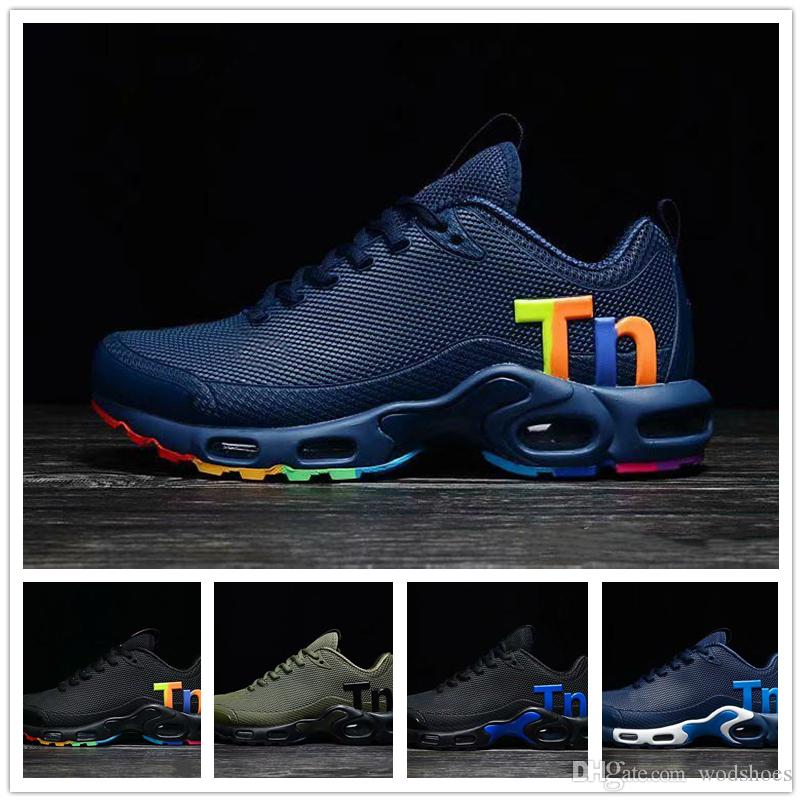 Mens Mercurial Plus Tn Ultra Nano Zapatillas Designer Sneakers Chaussures Homme Scarpe da basket Scarpe da corsa US7-12