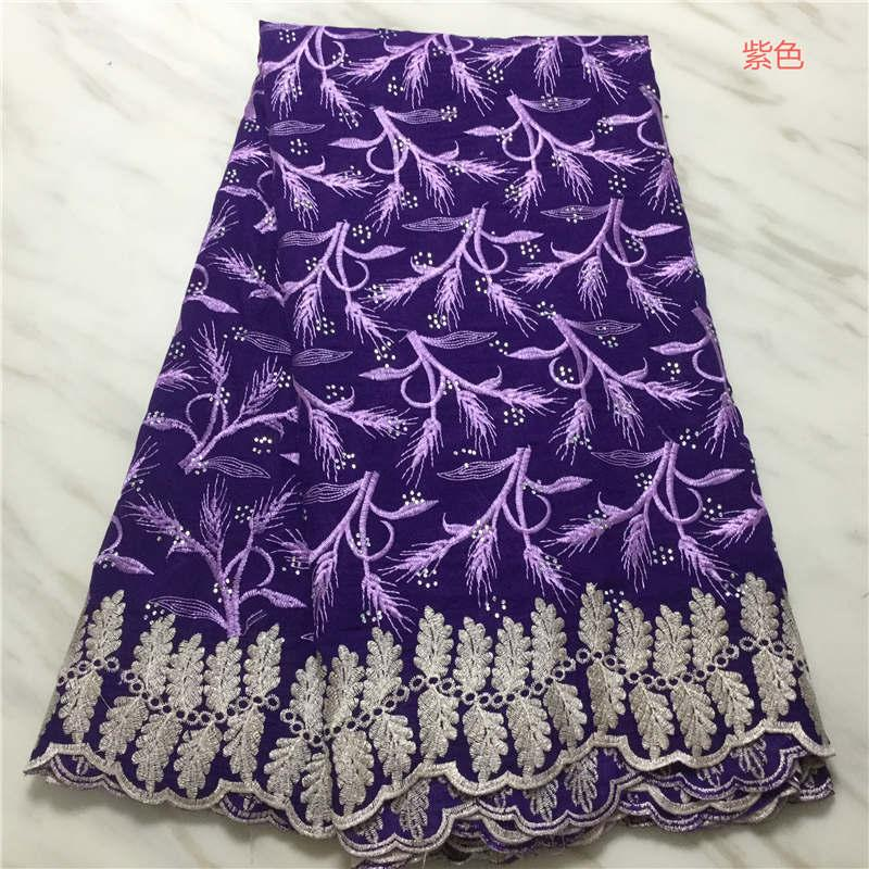 Швейцарский Voile кружева В Швейцарии 2020 высокого качества Африканский ткань шнурка Embroiderey Нигерийский Lace ткани для платья PL11623