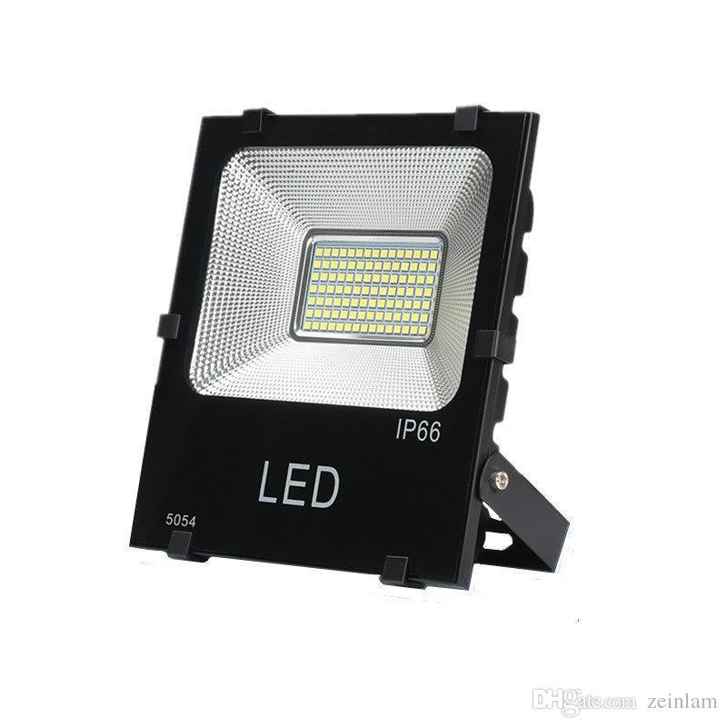 LED 홍수 조명, 슈퍼 밝은 야외 작업 빛, IP66 방수, 야외 투광 조명 차고, 정원, 잔디 및 마당, 10-200W