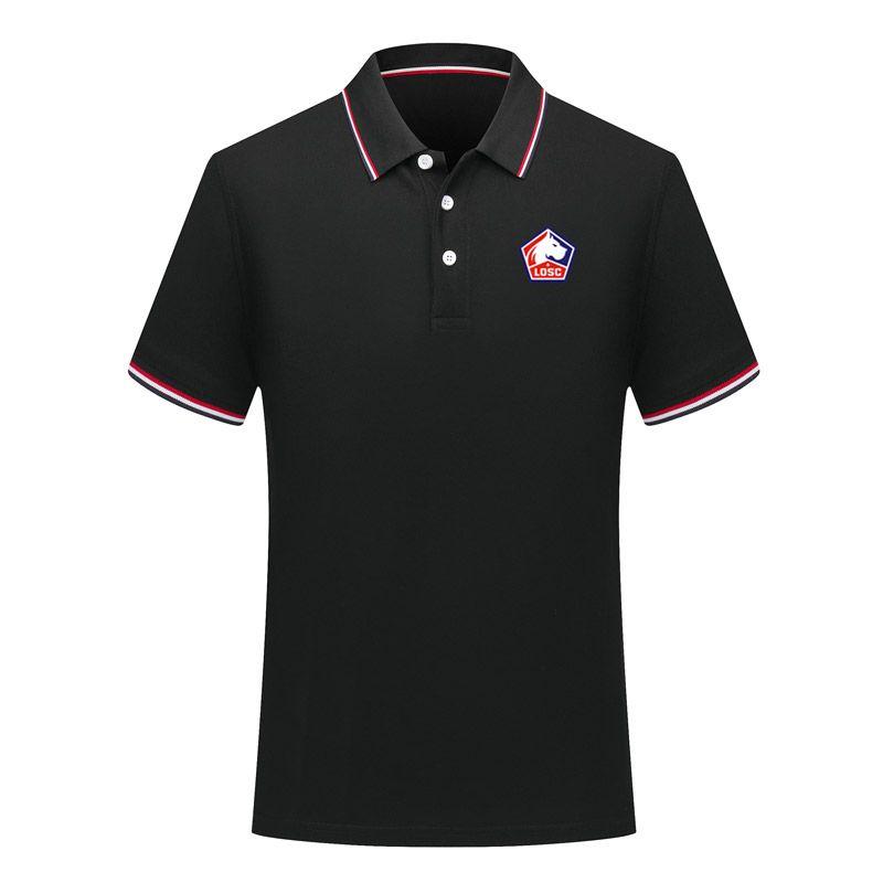 2020 Lille LOSC мужской футбол рубашка-поло Спорт Polo футбол польос лето Активный футбол с коротким рукавом Поло T-Shirt Трикотажные мужские Polos