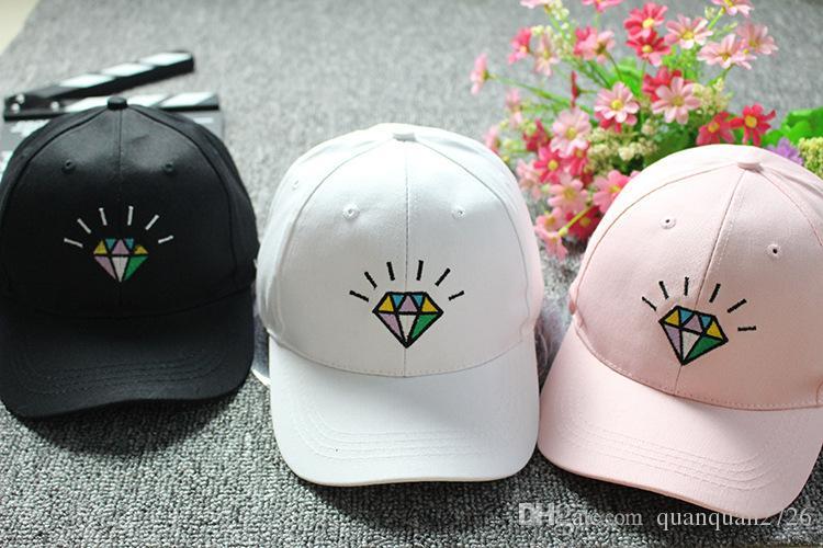 South Korea's sweet and lovely diamond cap baseball cap children spring and summer sun shade cap tide Korean version