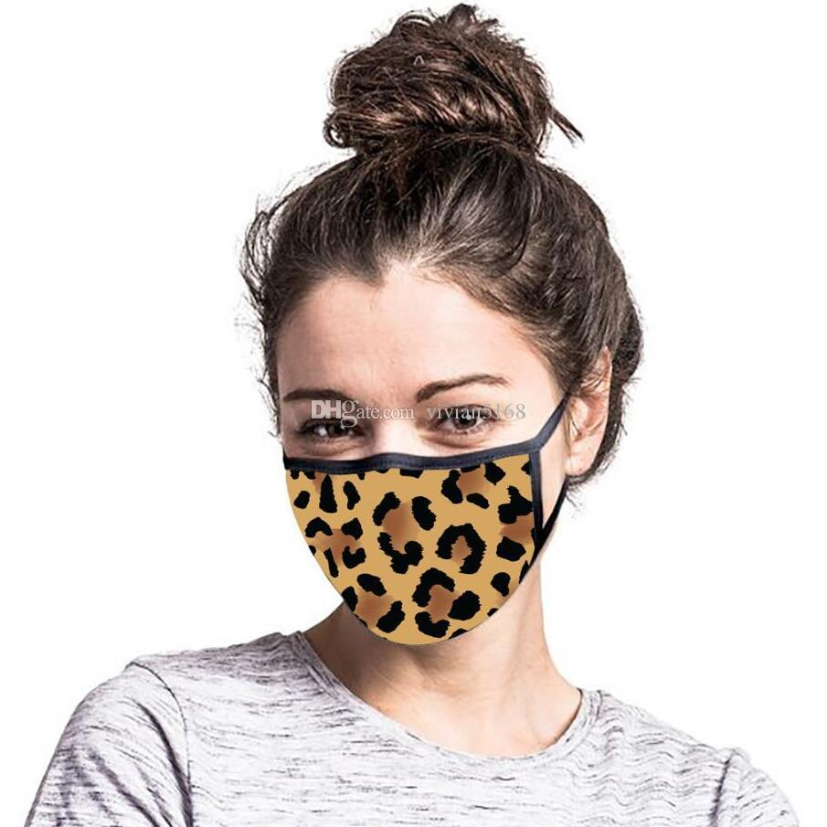 3D طباعة أقنعة الكرتون مضحك أقنعة الغبار الوجه المدني إثبات الشتاء الفم قناع طبقة مزدوجة حماية التنفس التي يعاد استخدامها Mascherine