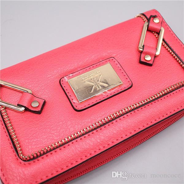 KK Wallet klassischen 4 Farben Marke Designer-Handtaschen Weihnachtssterne Portemonnaies wristlets glänzende Funkeln-Schein Geldbörsen für Frauen 2021