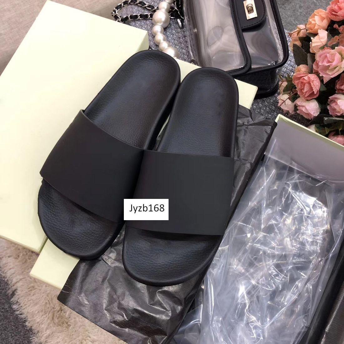 Hot Off calçados casuais praia coberta chinelos branco Casal impressão sapatos caixa original tamanho 41