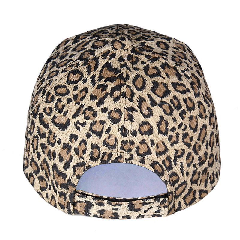 95497f0d Fashion New Women's Baseball Hats Leopard Print Snapback Cap Females Outside  Visor Sun Cap Accessories Casquette Gorras