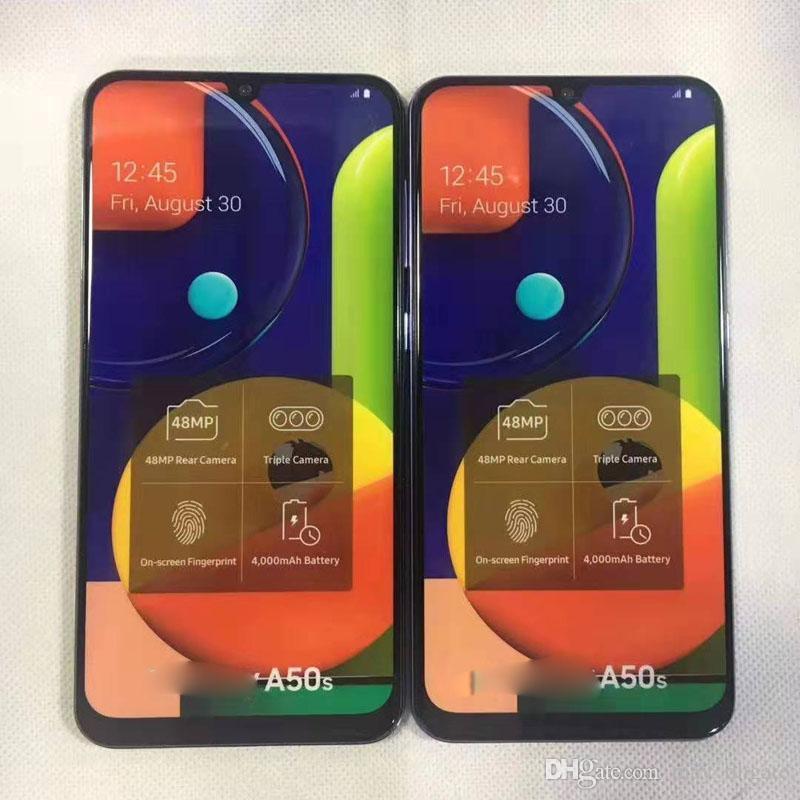 Dummy Mold schermo a colori falso per Samsung A20S / telefono Mold A50S Dummy mobile Solo per display modello fittizio Non-Working