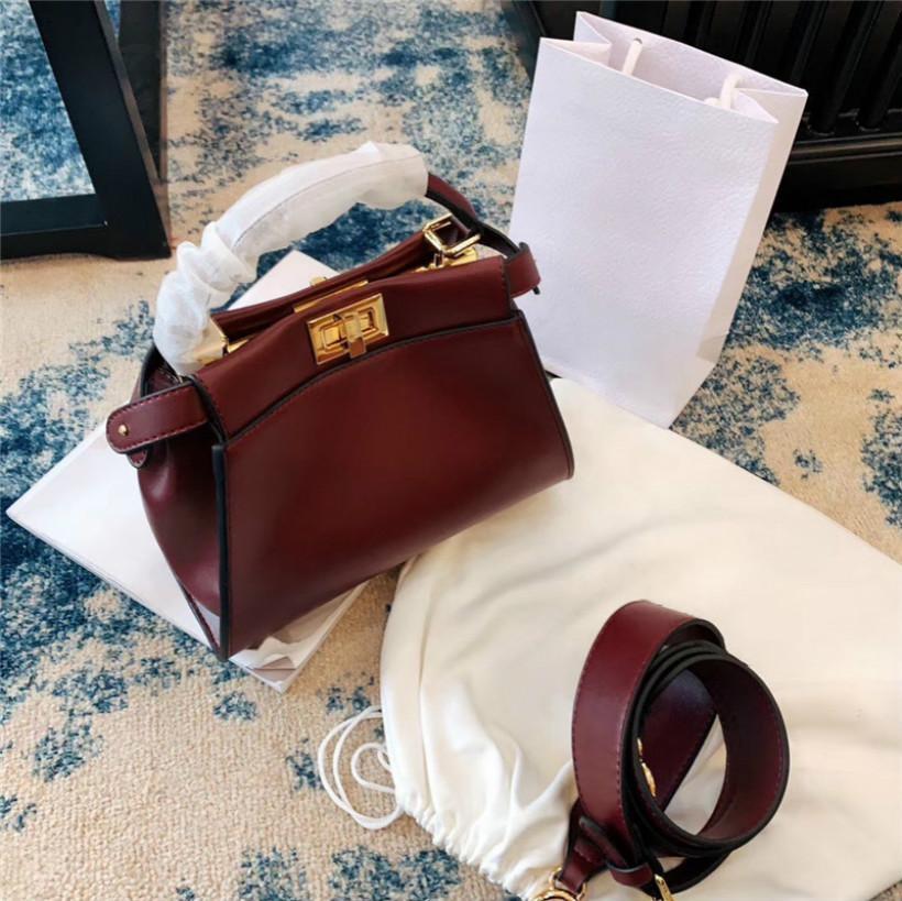 designer de ombro inclinado do saco da bolsa Buckle bom jogo de alta qualidade moda em couro senhora 7 Item número CFY2001072