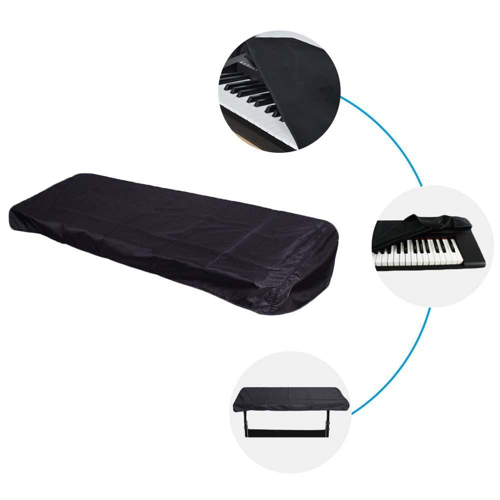 Evrensel Elektronik Klavye Kapak Dijital Elektrik Piyano Kapak Güzel toz geçirmez ve Leke Dirençli YÜKSEK Kalite