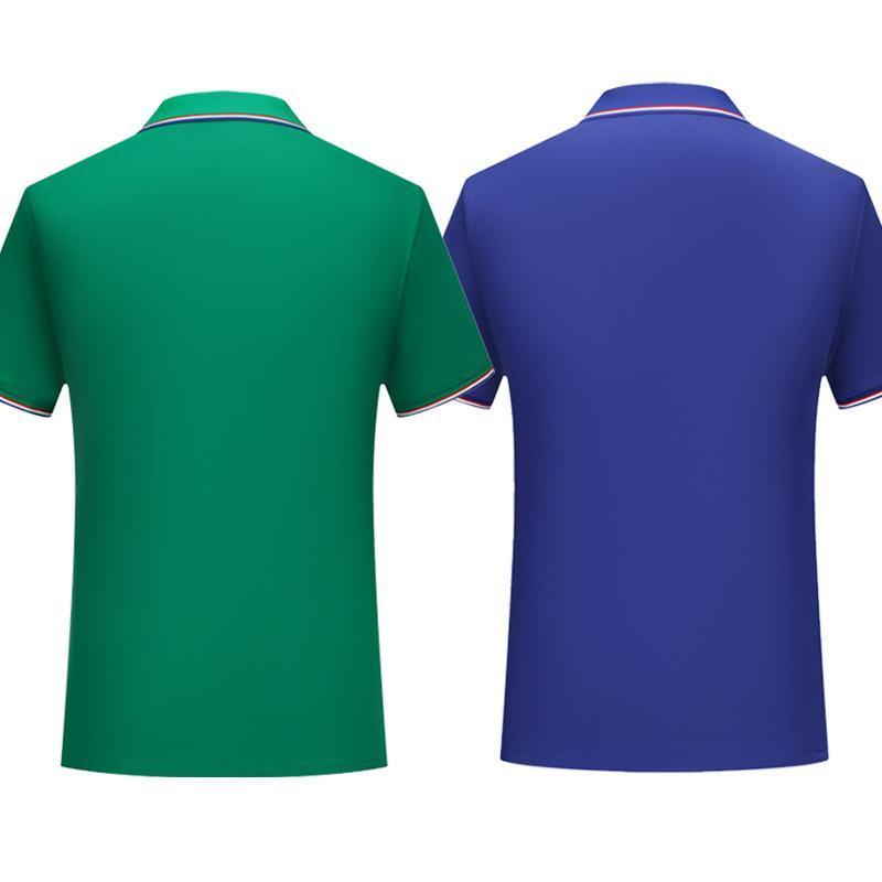 A nova moda nova cor sólida cor de mangas curtas e mulheres com confortável e respirável rosa camisa polo uniforme SD-7911-172