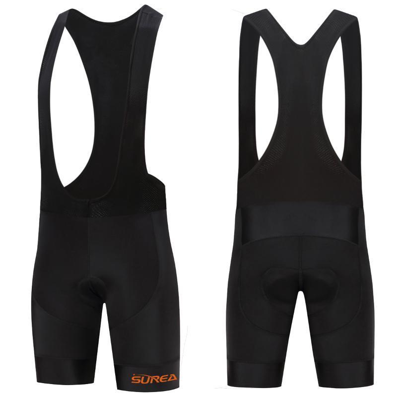 Mens Team Cycling Bib Shorts Summer MTB Bike Gel Pad Short Pants Bicycle Bottoms