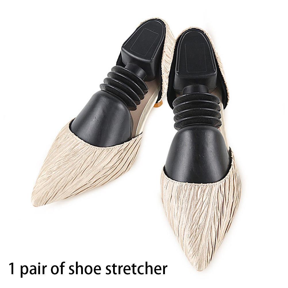 2pcs Главная Регулируемый обуви Носилки Практические Портативный Эластичный Весна Shaper Boots Expander Пластиковые против морщин Универсальный