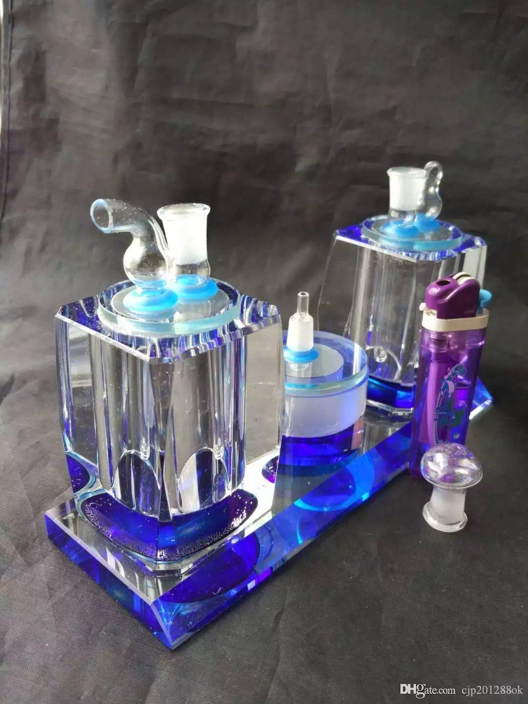 La nouvelle bouteille d'eau en verre à double cristal