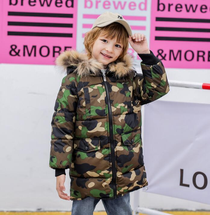 indumenti di cotone camuffamento per bambini, abbigliamento lungo inverno, uomo e abbigliamento donna, giacca di cotone grandi per bambini, giacca di cotone, WY1289