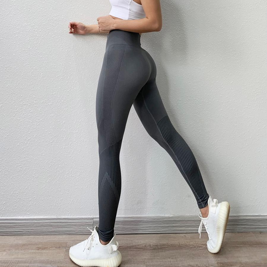 BINAND Push Up senza saldatura Yoga Leggings Sport Donne Fitness Corsa Sport Leggings Slim Pantaloni Yoga Dry Fit Training Gym Leggings Y200328