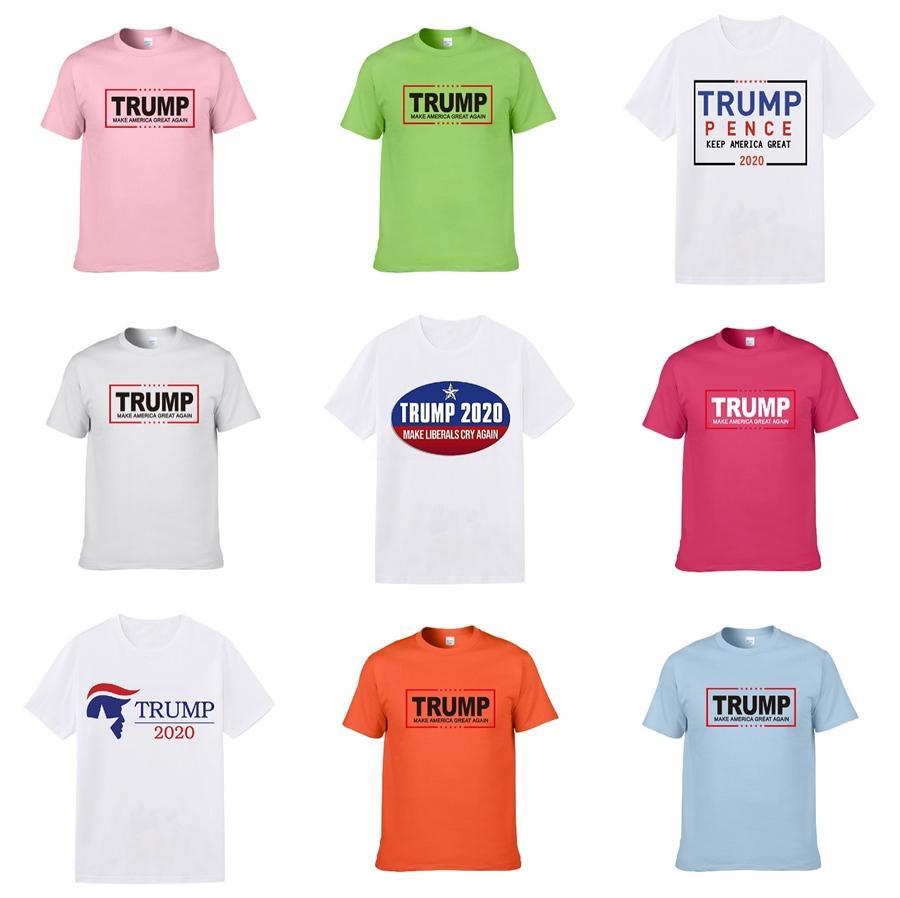 Kaplan Tasarımcı Trump Tişört Erkekler Lüks Giyim Kısa Kollu Kadınlar Punk Hip Hop Tee Harf Yaz Kaykay Çiftler Casual Tees yazdır Tops
