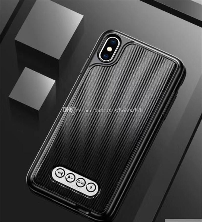 Speaker MUSIC Phone Case Cover for iPhone 5 5s SE 6 6s 7 8 X XR XS max samsung galaxy S5 S6 S7 edge S8 S9 Plus