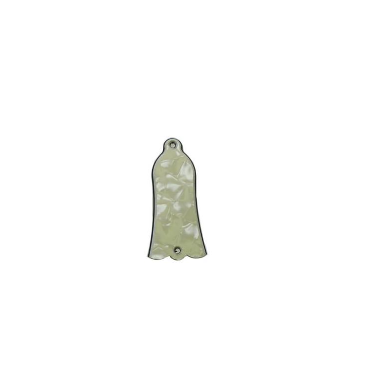 NOUVEAU crème 3 plis perle jaune de Bell Truss Rod couverture pour SG / Les Paul / personnalisé Guitare basse