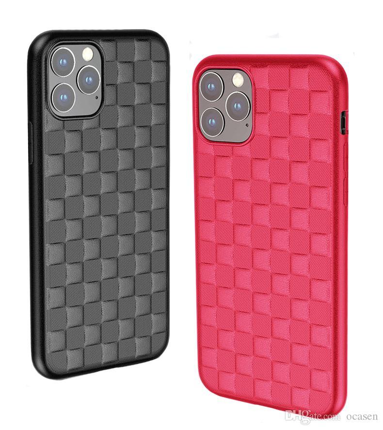 لمدة 11 فون برو ماكس 3D فاخر حالة الهاتف المحمول سيليكون لينة TPU غطاء الهاتف شحن مجاني