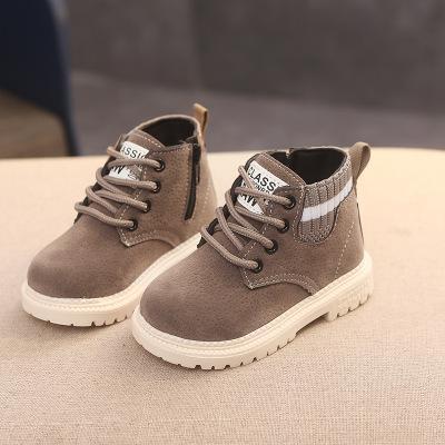 아기 패션 럭셔리 스노우 부츠 단색 라운드 발가락 플랫 신발 아기 아이 아이 디자이너 스노우 부츠 겨울 신발 2020 새로운 도착