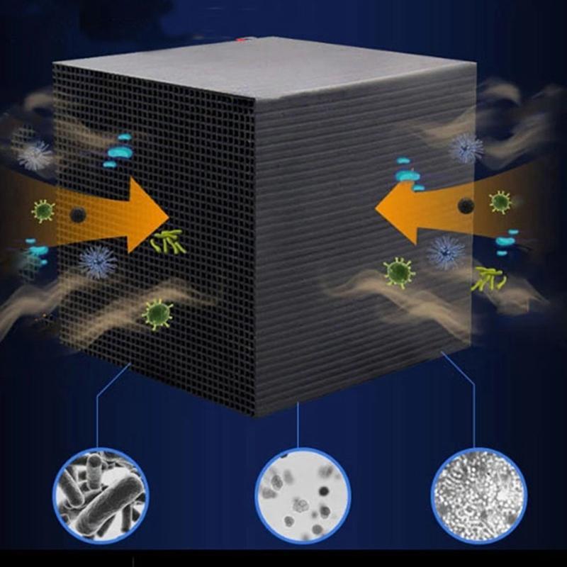 Activé carbone Filtre à eau Eco-Aquarium Purificateur d'eau Cube en nid d'abeille Ultra Strong Filtre d'absorption de filtration