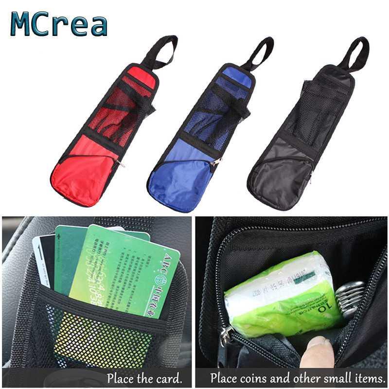 Mcrea 1X voiture sac de rangement côté Siège Accessoires poche multifonctions Cruze Aveo c4 c5 c3 Vitara