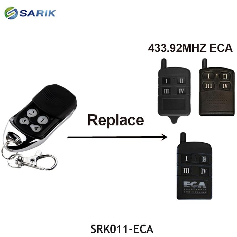 For receivers purchased from us Spare Remote Control Rolling code 433.92MHz.