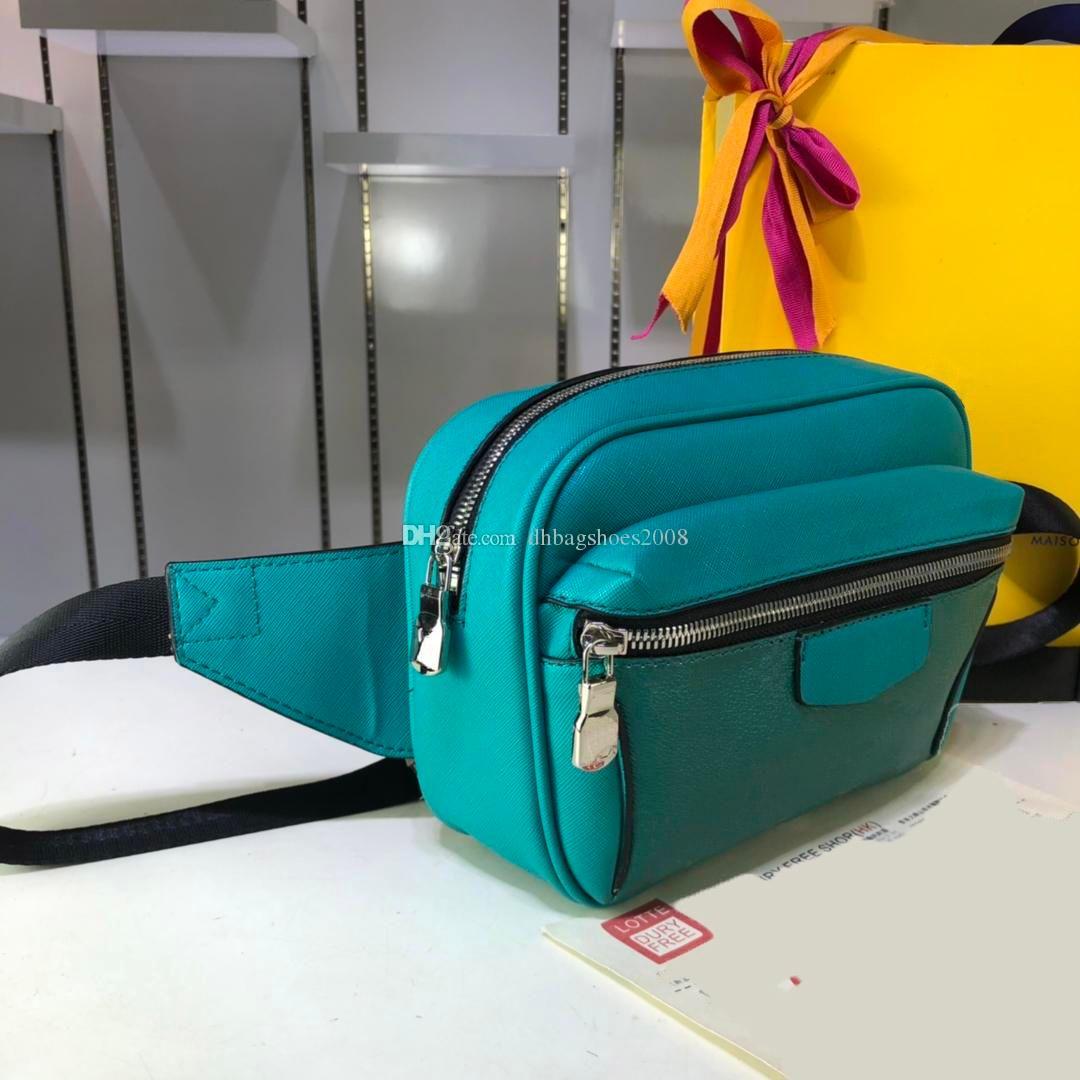 Nouveau petit style Top qualité Sports de plein air pour les hommes Sacs taille réelle ceinture pectorale sacs de marque Waistpacks sans boîte 21x17x5CM