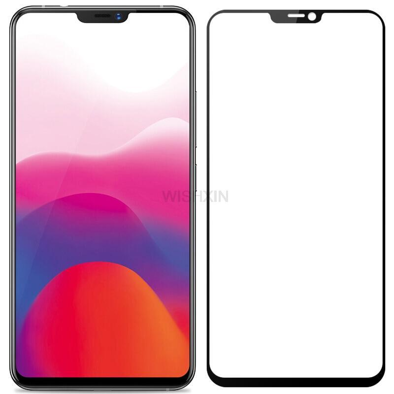 Toughened Protective Film for Mobile Screen 25 PCS AG Matte Frosted Full Cover Tempered Glass for Vivo Y81 yf